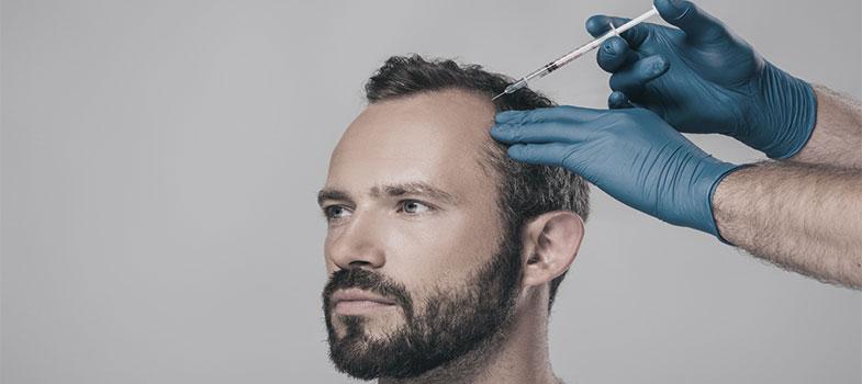 clinic utoquai Botox gegen Haarausfall Zürich